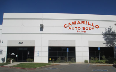Front Offices at Camarillo Auto Body